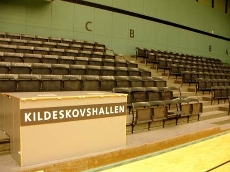 Tribune Kildeskovshallen